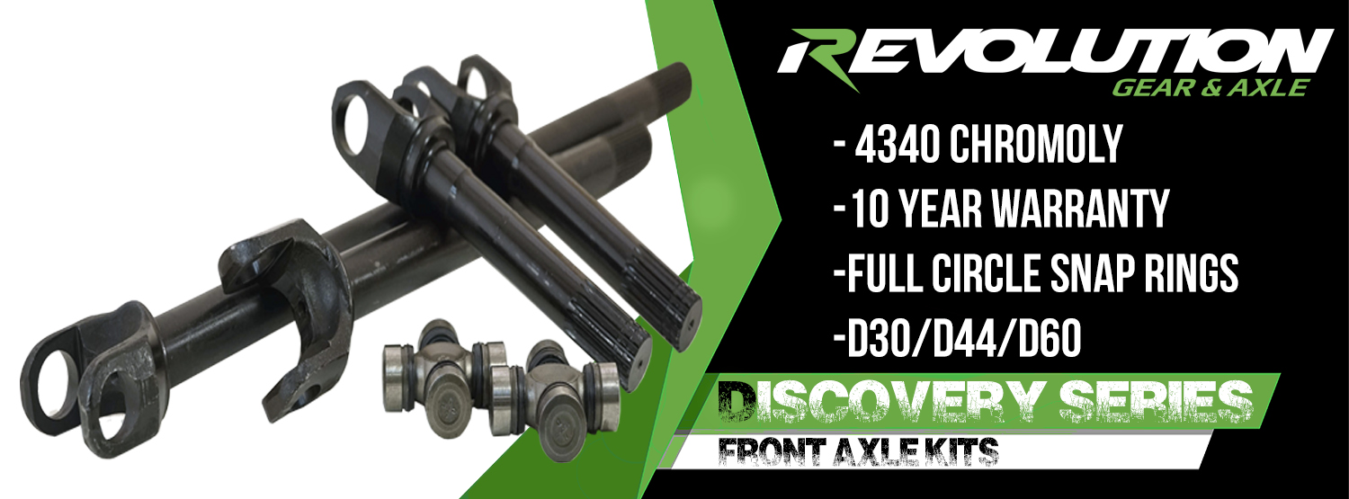 Revolution Gear & Axle | Where Will Your Gears Take You