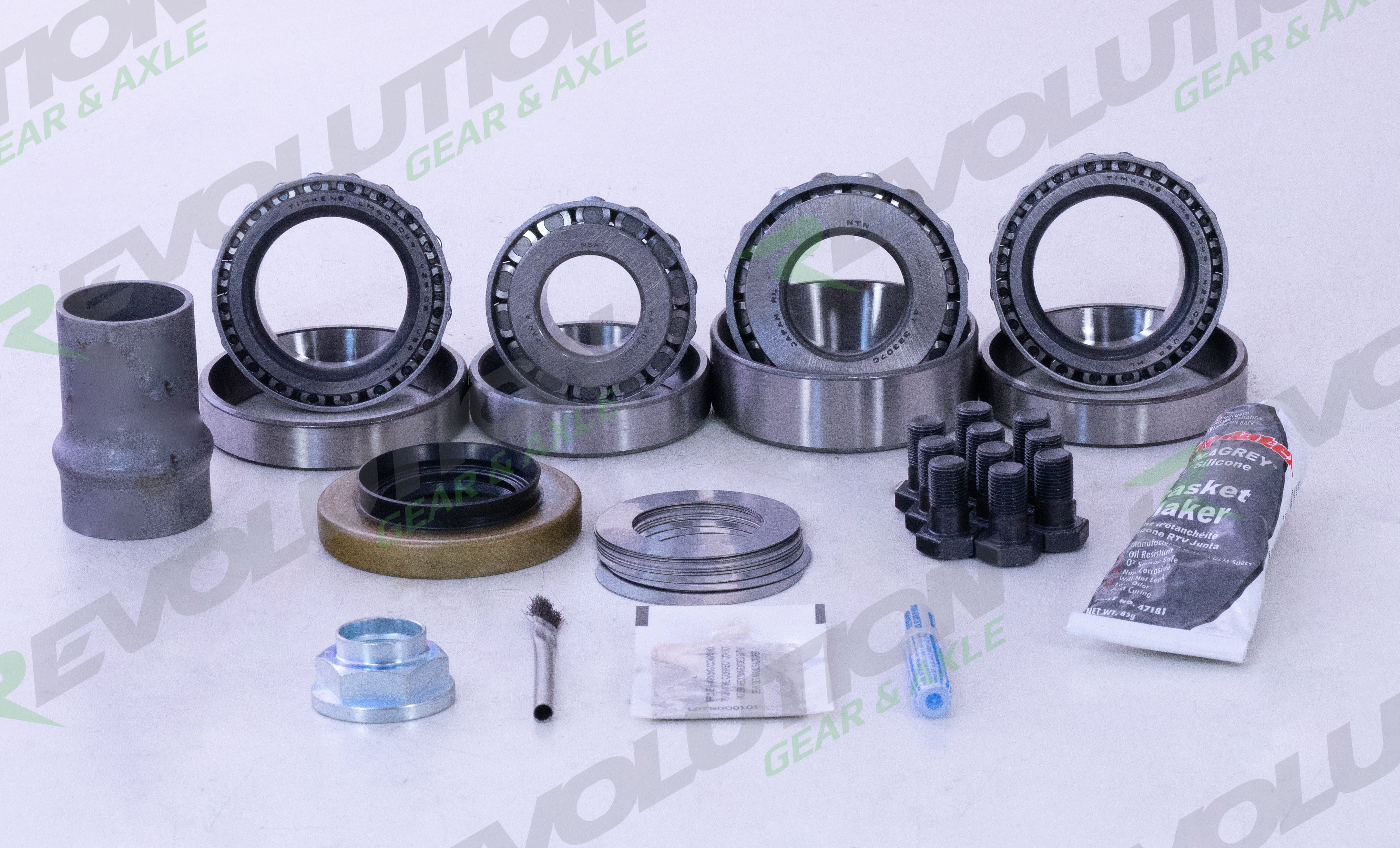Toy 8 Inch Master Rebuild Kit 4 Cyl Front/Rear 79-86