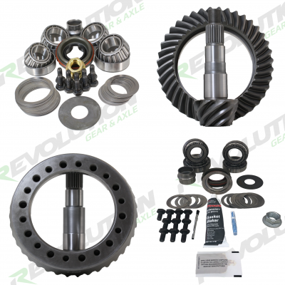 DANA 30 ZJ 3.73 RING AND PINION /& MASTER BEARING INSTALL KIT